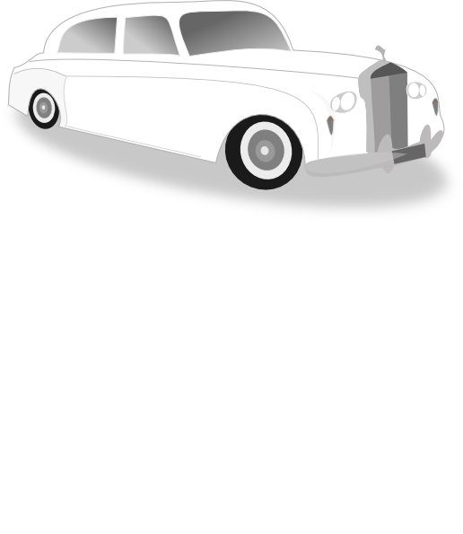 White Limo Clip Art At Clker Com   Vector Clip Art Online Royalty
