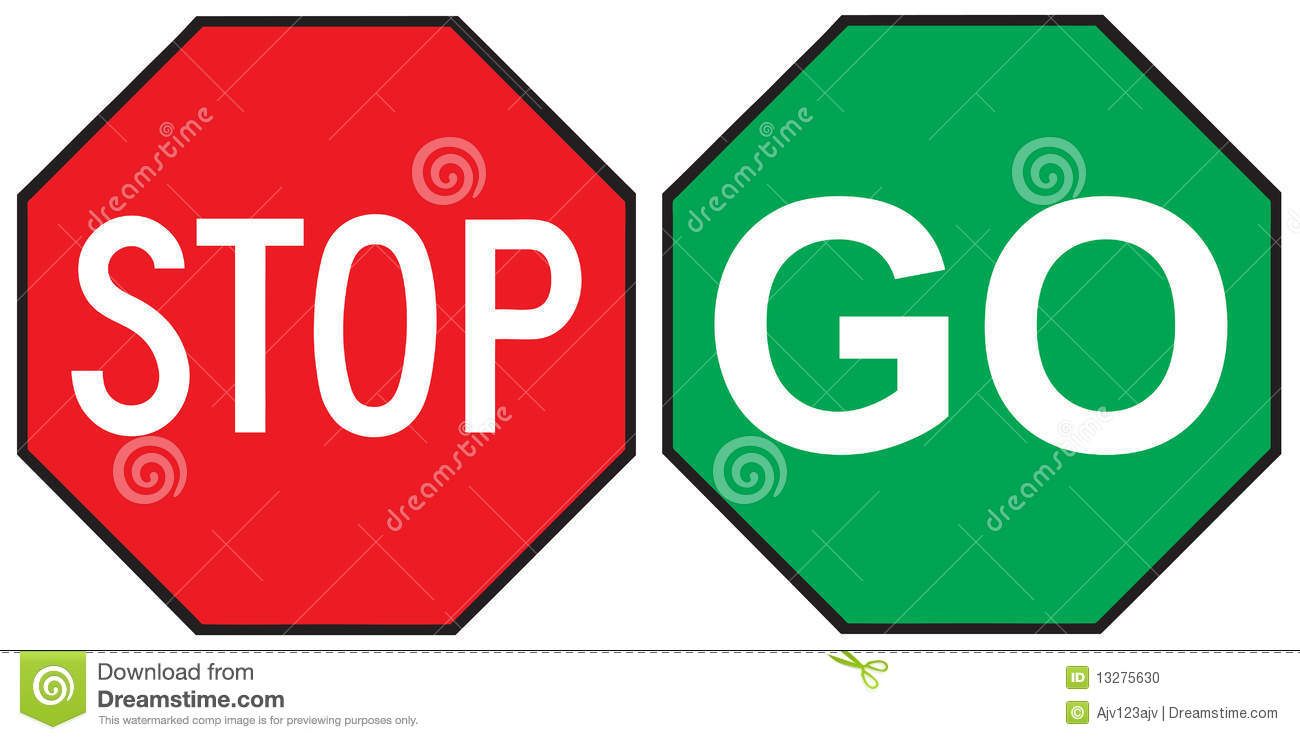 go sign black and white clipart clipart suggest