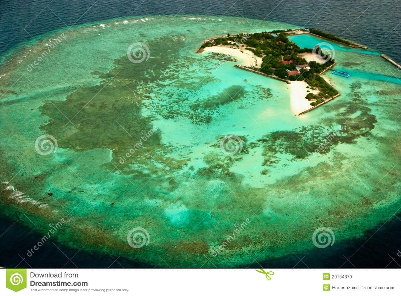 Bird S Eye View Islands Royalty Free Stock Images   Image  20184879