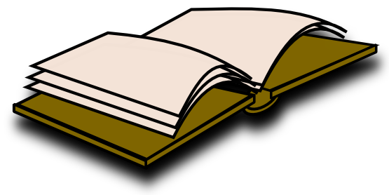 Free To Use   Public Domain Book Clip Art