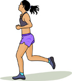 Jogging Clipart And Graphics