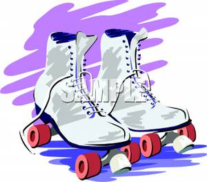 80s Roller Skating Clip Art - More information