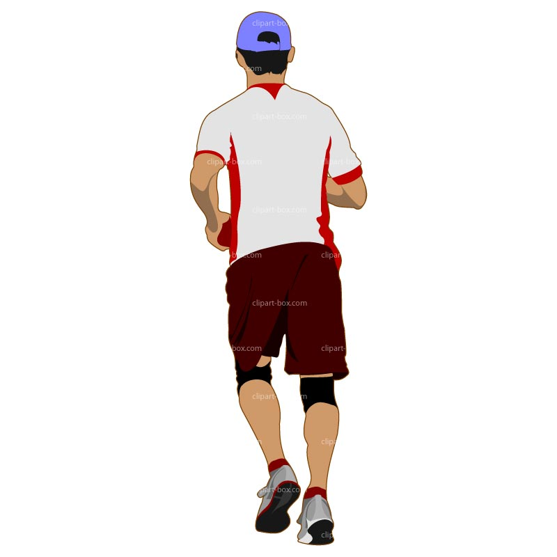 Person Jogging Clipart Pictures