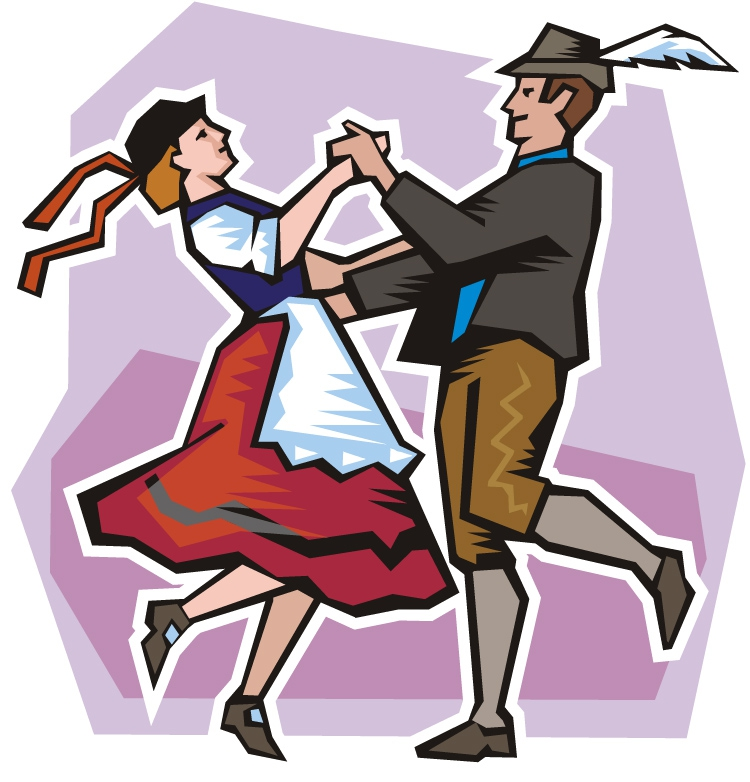 Polka Dances Colouring Pages