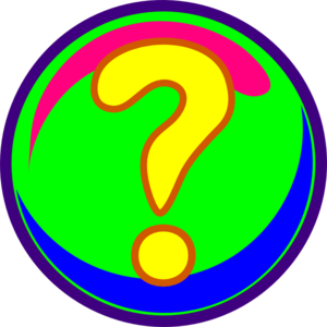 Questioning Face Clip Art Question Mark Colors Clip Art