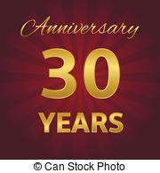 20 Year Business Anniversary Clip Art