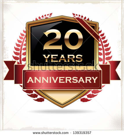 20 Years Anniversary Stock Photos Images   Pictures   Shutterstock