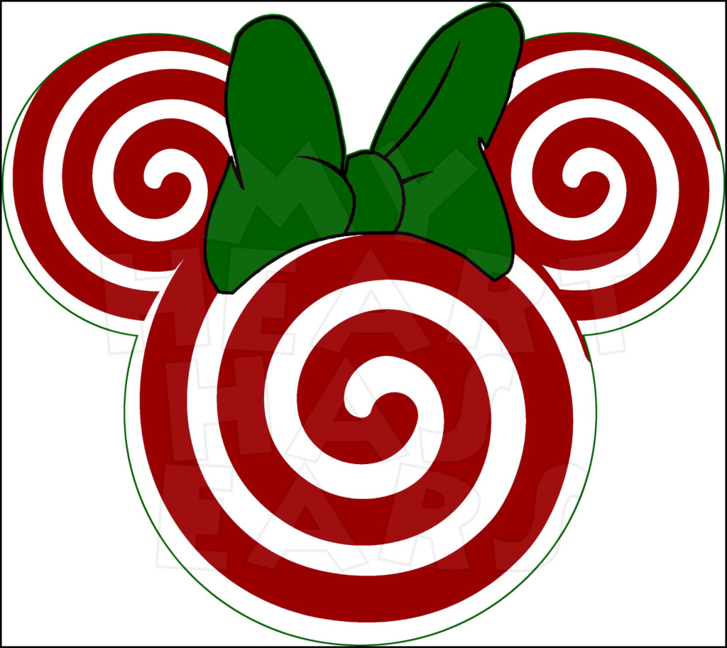 Christmas Mickey Ears Clipart - Clipart Kid