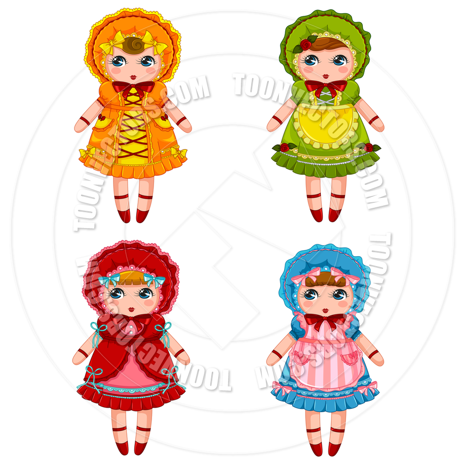 Cartoon Dolls Collection