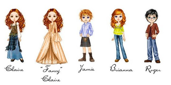 Cartoon Dolls Graphic   Oyegraphics Com