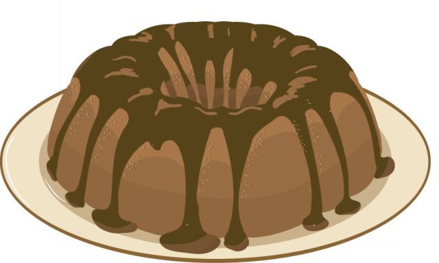 Clip Art Slice Of Chocolate Cake Clipart - Clipart Kid