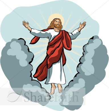 Christianity Clipart Jesus   Ascension Day Clipart