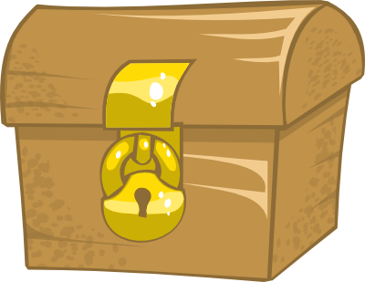 Closed Treasure Box Clipart - Clipart Suggest