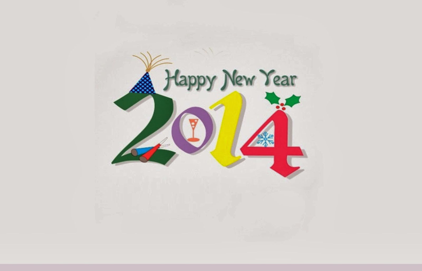 Happy New Year 2014 Clipart Image Free Download Jpg