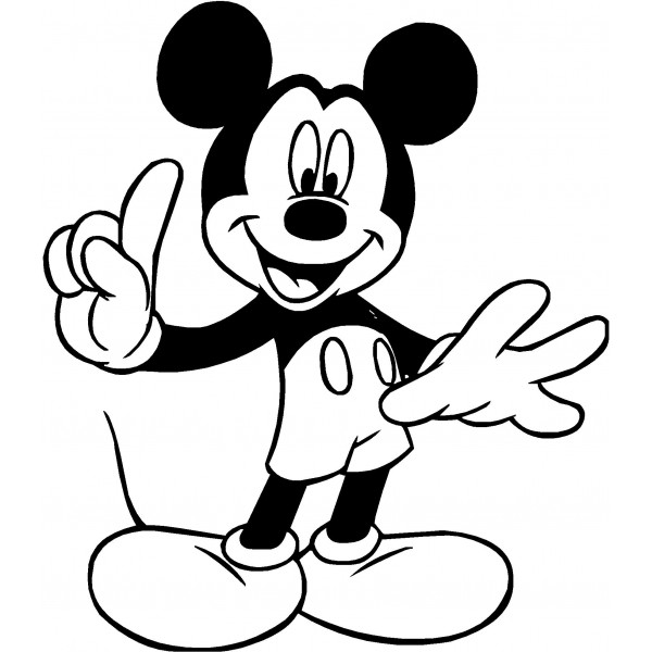 Clip Art Mickey Mouse Clipart Black And White mickey border black and white clipart kid mouse clip art decal panda free images