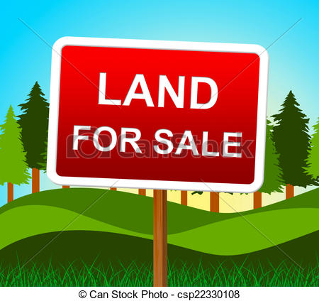 Real Estate Agent And House   Land For    Csp22330108   Search Clipart