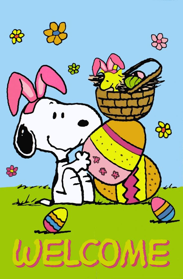 Snoopy Easter   Clip Art Peanuts   Pinterest