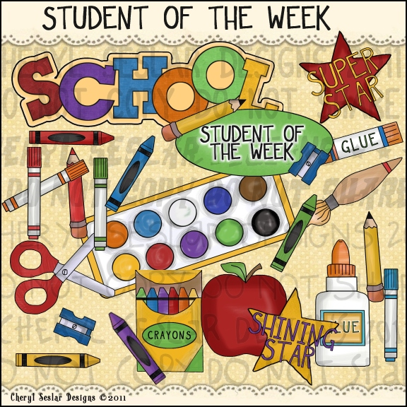 Student Of The Week Clip Art   Dog Breeds Gallery