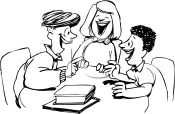 Students Talking Clipart - Clipart Kid
