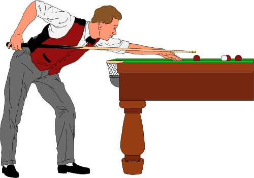 Shooting Pool Clipart - Clipart Suggest