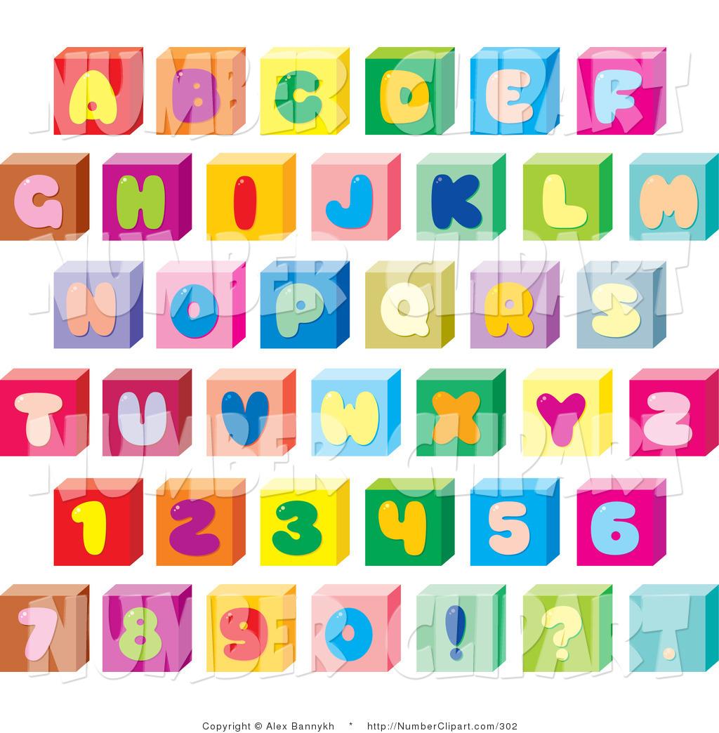 Block Letters Clipart - Clipart Kid
