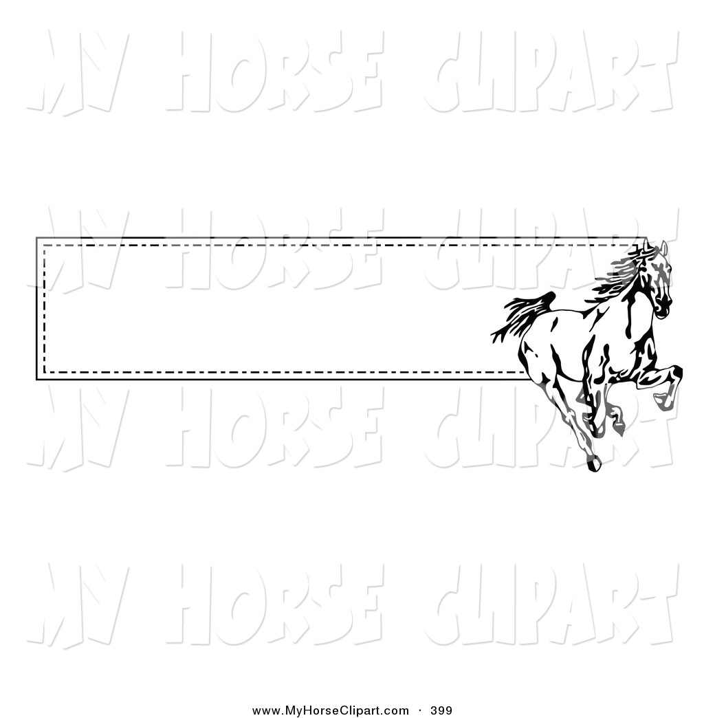 Free Horse Border Clipart - Clipart Kid