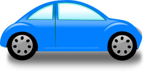 Blue Car Clip Art At Clker Com   Vector Clip Art Online Royalty Free