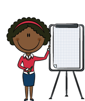 Business Lady Presentation   Clipart   The Arts   Image   Pbs