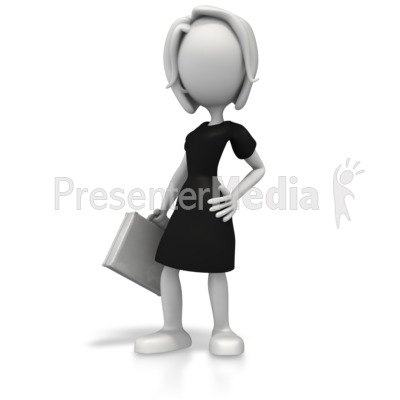 Business Woman Pose   Business And Finance   Great Clipart For