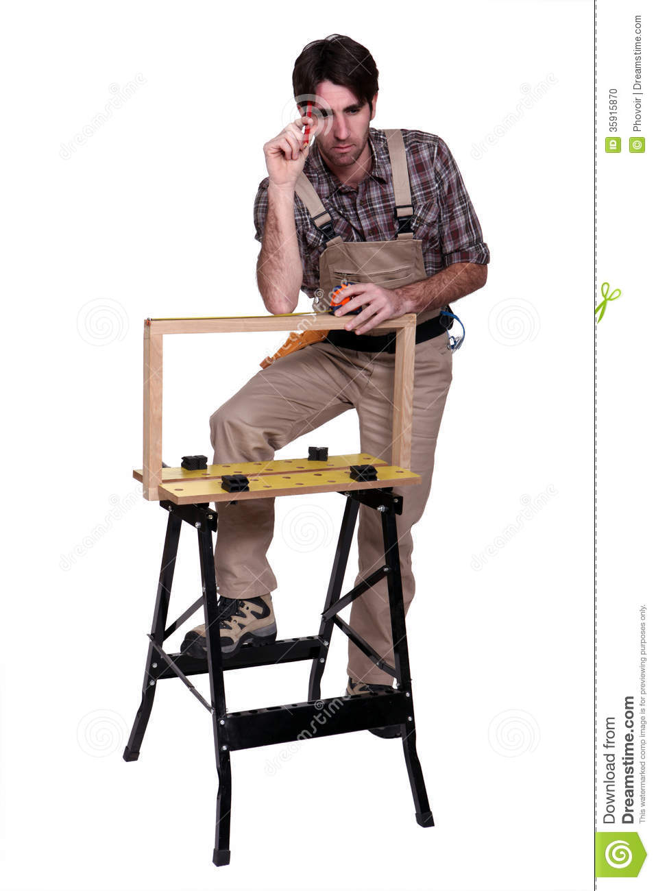 Cabinet Maker Stock Photo   Image  35915870