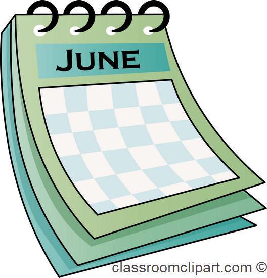 Calendar June Clipart : June calendar clipart suggest