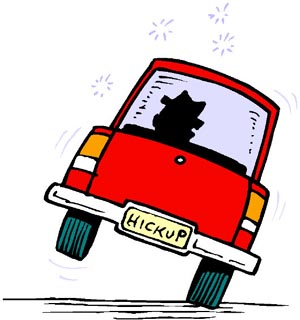 Funny Driving Clipart - Clipart Kid