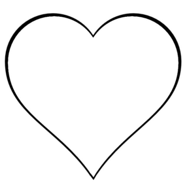 Clip Art Heart Shape Clipart heart shape outline clipart kid clip art panda free images