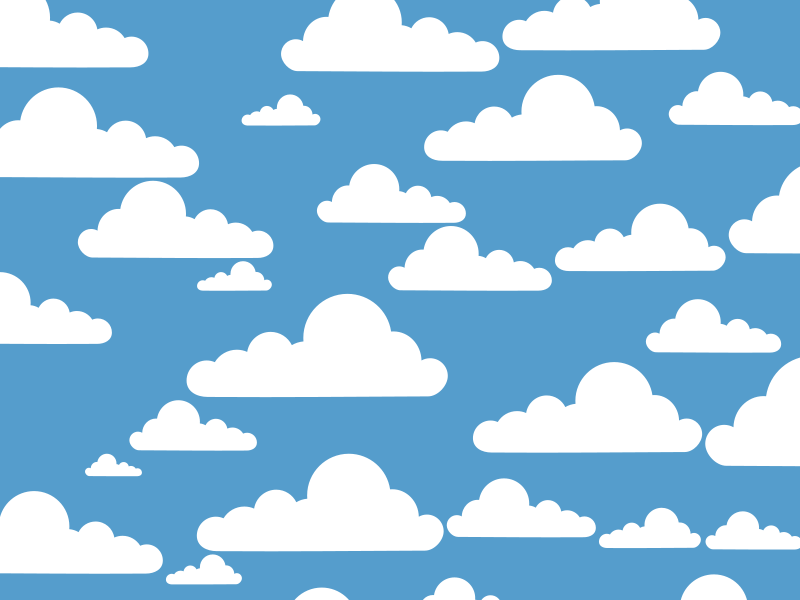 Clue Simple Clouds   Free Images At Clker Com   Vector Clip Art Online
