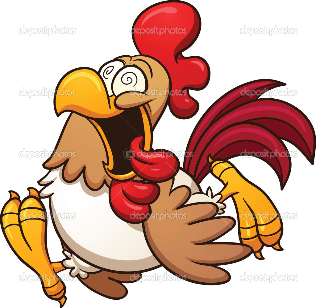 Crazy Chicken Clipart - Clipart Suggest