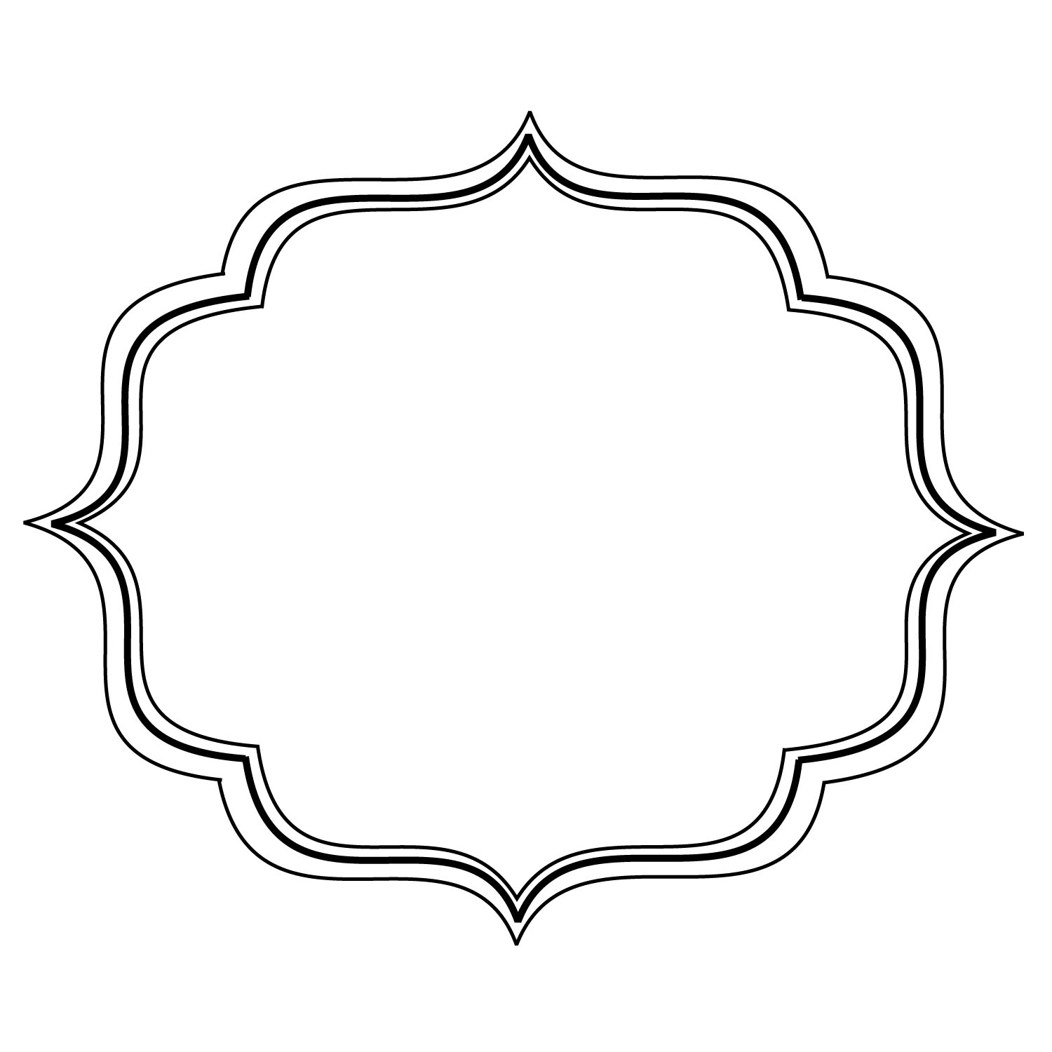 Flourish Frames Clipart Clipart Suggest