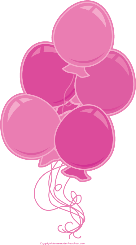 Pink Birthday Border Clipart - Clipart Kid