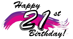 Happy 21st Birthday 2