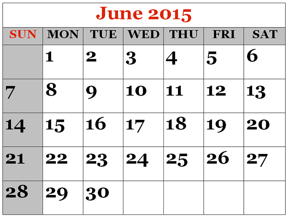 June Calendar Clip Art : June calendar clipart suggest