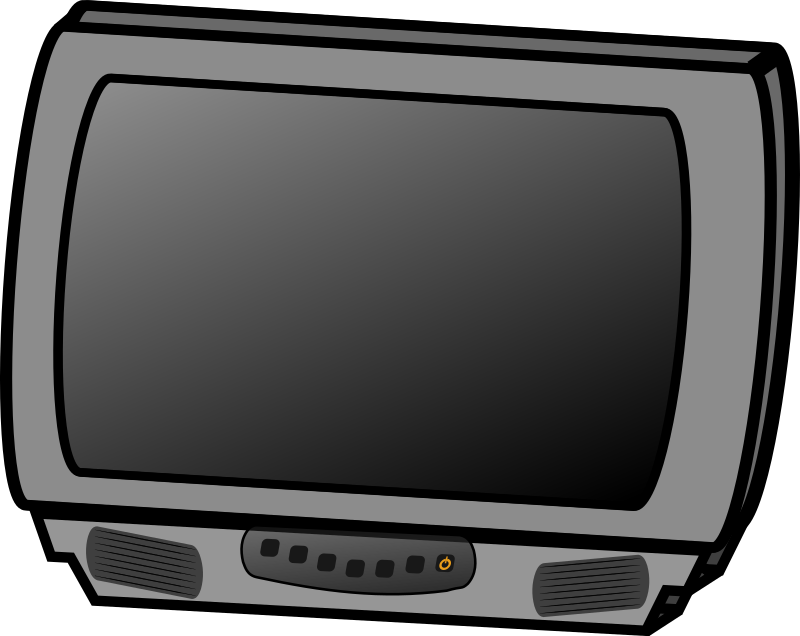 Plasma Tv Clipart  Watching Tv Clipart  Television Clip Art