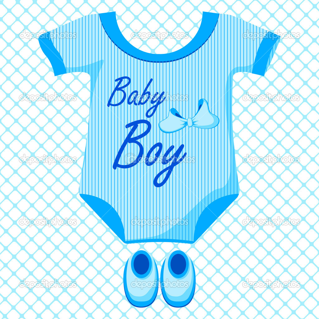 Baby Boy Clothes Clip Art