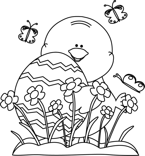 spring black and white clipart clipart suggest