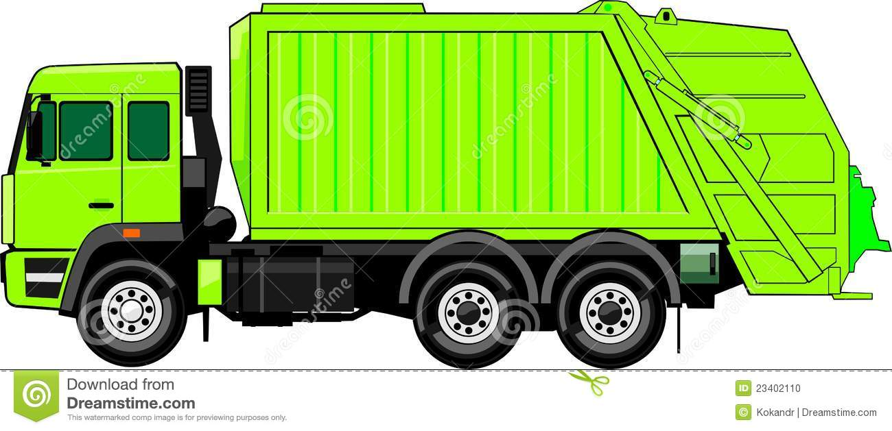 Clip Art Cartoon Garbage Truck Garbage Truck Clip Art Garbage Truck
