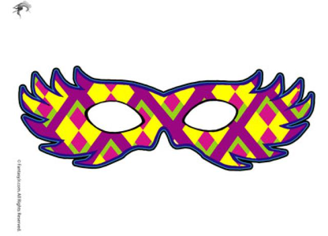Mardi Gras Printable Clipart - Clipart Kid