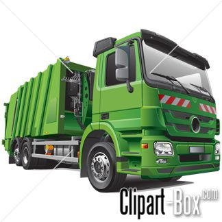Clipart Green Garbage Truck   Cliparts   Pinterest