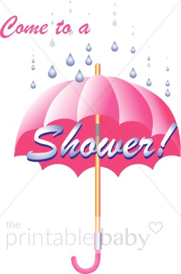 Pink Umbrella Clip Art Showers Of Blessings C...