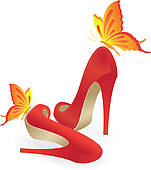 High Heel Shoes Illustrations And Clip Art  1583 High Heel Shoes