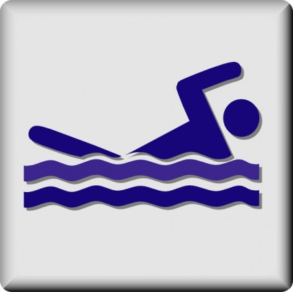 Hotel Icon Swimming Pool Clip Art Free Vector In Open Office Drawing