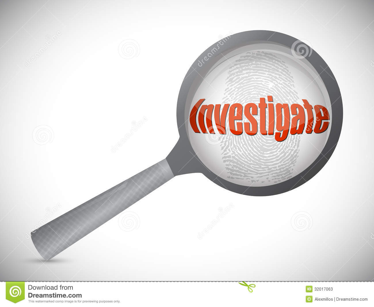 Investigation Under Search Illustration Stock Photos   Image