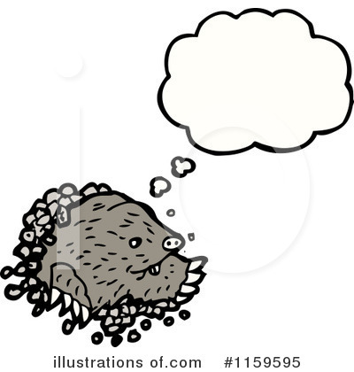 Mole Clipart  1159595 By Lineartestpilot   Royalty Free  Rf  Stock